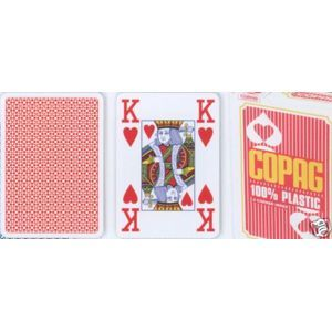 Copag Copag Jumbo 2073 Poker karty 4 rohy Red