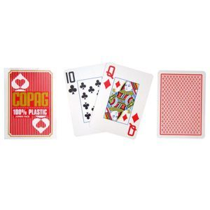 Copag Copag Jumbo 2077 Poker karty 2 rohy Red