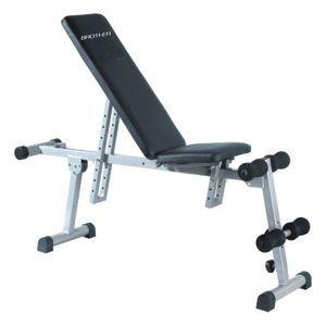 CorbySport 6186 Posilovací lavička sit/up/bench