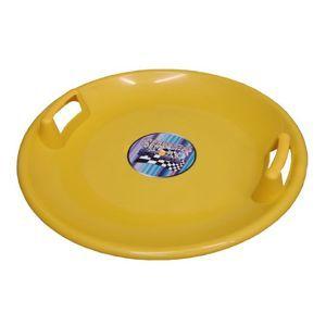 Acra Superstar plastový talíř 05-A2034 žlutý