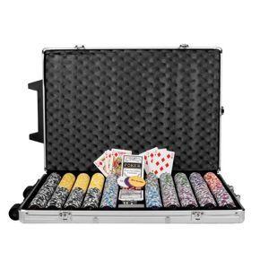 Garthen OCEAN Trolley 495 Poker set 1000 ks žetonů