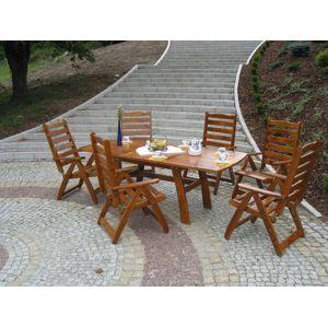 Tradgard RUSTIKA 40983 Zahradní dřevěný stůl