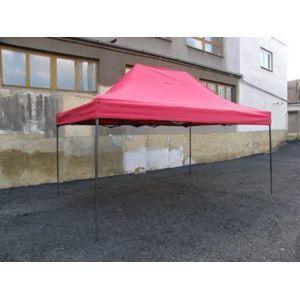 Tradgard DELUXE 41065 Zahradní párty stan nůžkový - 3 x 4,5 m červená