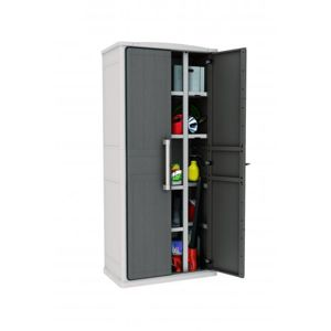 Keter TALL 41440 Plastová úložná skříň 178 x 80 x 47 cm