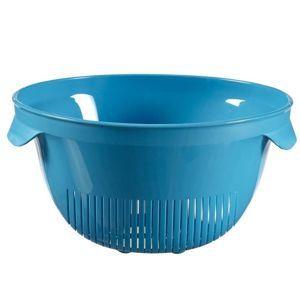 00736-656 Curver Cedník velký Essential, modrý