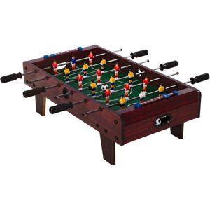 Tuin 40543 Mini stolní fotbal fotbálek s nožičkami 70 x 37 x 25 cm tmavý