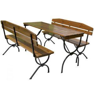 Tradgard BRAVO 35267 Dřevěný zahradní set - 180CM