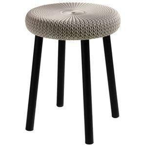 Keter 43787 Stolička COZY stool - písková