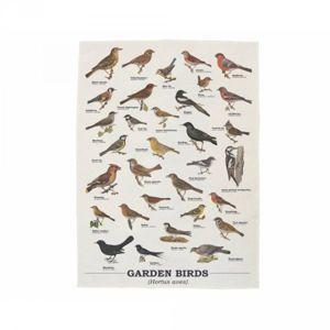 Utěrka s ptáky