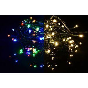 Nexos 41707 Vánoční světelný řetěz 300 LED - 9 blikajících funkcí - 29,9 m