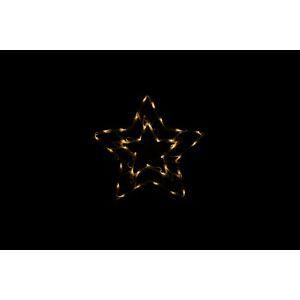 Nexos 47246 Vánoční LED dekorace do okna - HVĚZDA - 40 cm