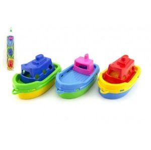 Loď/Lodičky do vody 3ks plast 1v sáčku