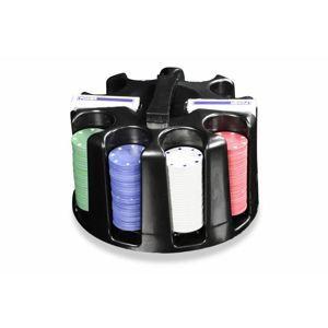 Garthen Caddy 505 Poker set 200ks - Otočný plastový stojan na žetony