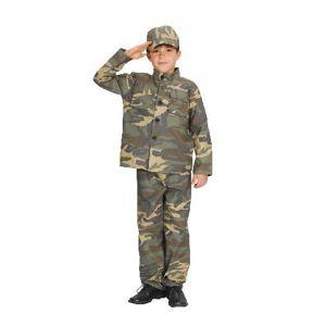 Karnevalový kostým Voják 110 - 120cm
