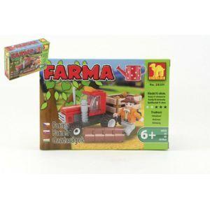 Dromader Farma 28301 Stavebnice 93ks v krabici 18,5x13x4,5cm