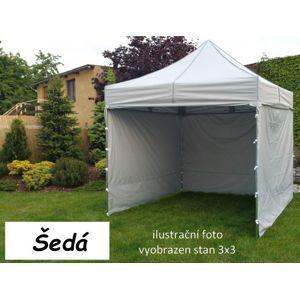 Tradgard PROFI STEEL 56956 Zahradní párty stan 3 x 4,5 - šedá