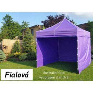 Tradgard PROFI STEEL 57113 Zahradní párty stan 3 x 6 - fialová