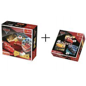 PACK Boom Boom CARS 3 Hra + puzzle 3v1 grátis v krabici