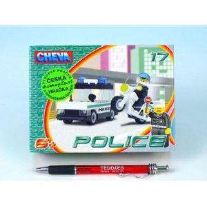 Cheva 17 Policejní hlídka Stavebnice 53dílů v krabici