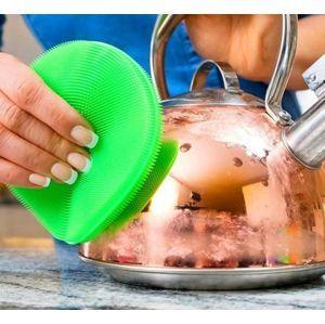 Antibakteriální silikonová houbička