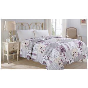 JAHU FLOWER Přehoz přes postel 140 x 220 cm
