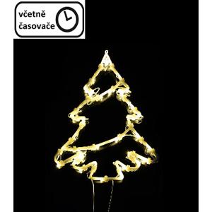 Nexos 67092 Vánoční dekorace na okno - 35 LED, strom