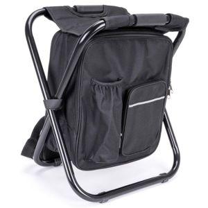 Multifunkční skládací batoh, černý