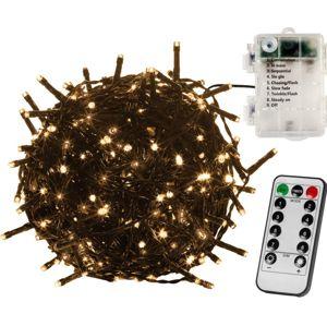 VOLTRONIC® 67404 Vánoční LED osvětlení - 5 m, 50 LED, teple bílé, na baterie