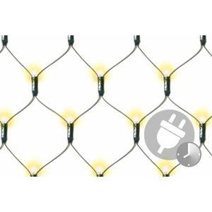 Vánoční LED světelná síť - 1,8 x 2,3 m, 320 diod, teple bílá