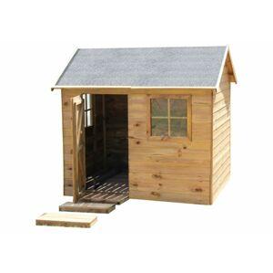 MARIMEX Dětská dřevěná chata, 161 x 158 x 127 cm