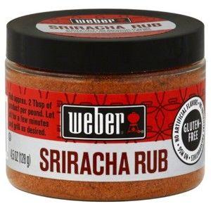 Koření Weber Sriracha Rub 128 g